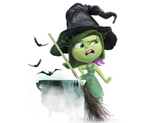 disgust, Halloween, and inside out image