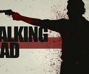 the walking dead, twd, and zombie image
