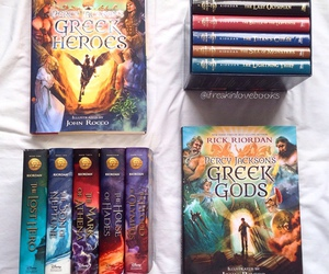 books, read, and percy jackson image