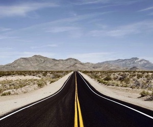infinity, road, and travel image
