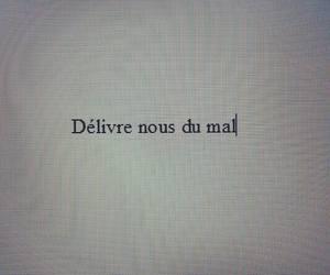 french, écrit, and noir et blanc image