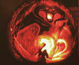 gandalf, pumpkin, and the lord of the ring image