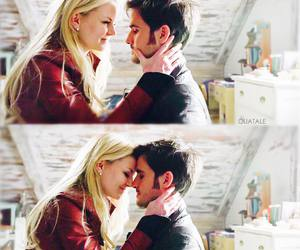 killianjones, emmaswan, and captainswan image