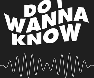 arctic monkeys, do i wanna know, and music image