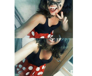 Halloween and minnie mouse image