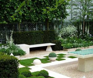 beautiful, garden, and home image