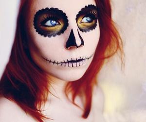 Halloween, beautiful, and make up image