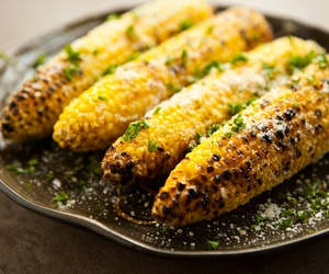 corn, food, and delicious image