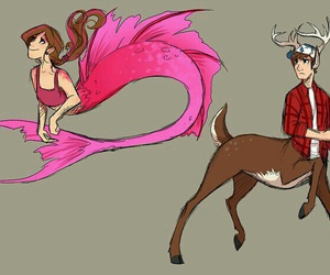 pines, gravity falls, and au image