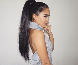 hairstyles, longhair, and ponytail image