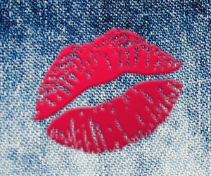 denim, Hot, and lips image