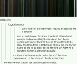harry potter, fandom, and movies image