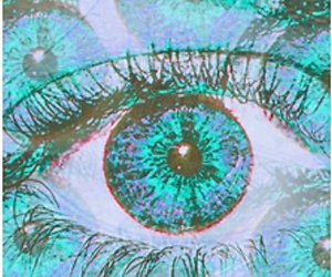 eye, blue, and eyes image