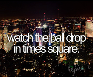 times square, new york, and before i die image