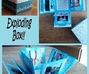 diy, gift, and box image