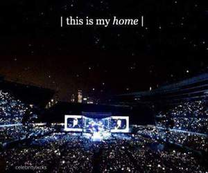 concert, one direction, and home image