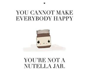 happy, jar, and nutella image