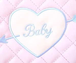baby, heart, and pastel image