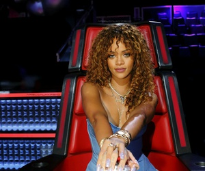 rihanna and the voice image