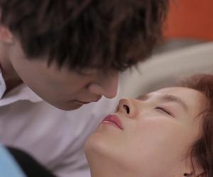 couple, kiss, and kdrama image