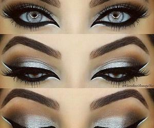 eyes, make up, and perfect image