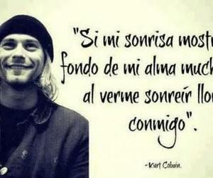 kurt cobain, smile, and frases image