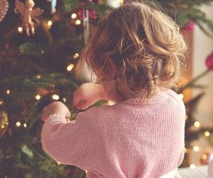 baby, christmas, and child image