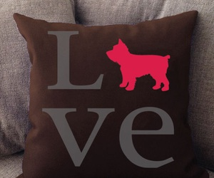 pillow, love, and home decor image