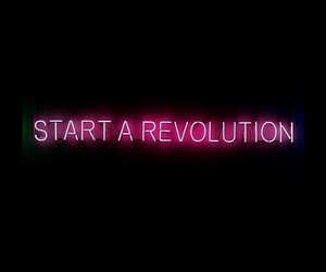 revolution, lights, and neon image