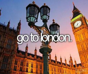 before i die, london, and go image