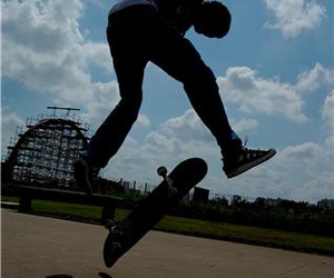 skate, rox, and heelflip image