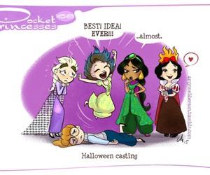 disney, pocket princesses, and jasmine image