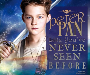 pan, peter pan, and levi miller image