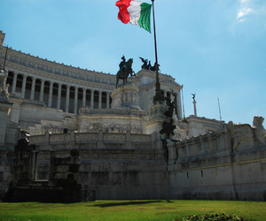 italy, rome, and love image