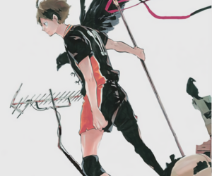 manga and haikyuu image