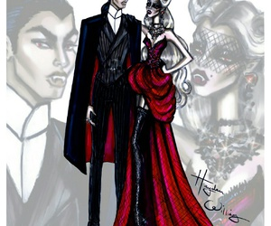vampire, hayden williams, and Halloween image