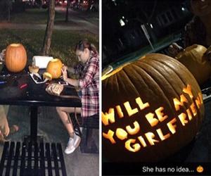autumn, boyfriend, and couple image