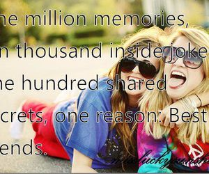 quote, best friends, and bff image