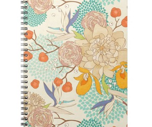 flowers, peonies, and pattern image