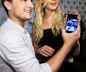 Jennifer Lawrence, josh hutcherson, and joshifer image