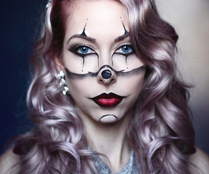 autumn, classy, and clown image