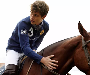 horse, boy, and Francisco Lachowski image