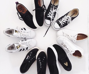 shoes, converse, and adidas image