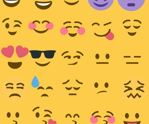 faces, funny, and emoji image