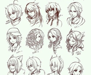 anime, drawing, and art image