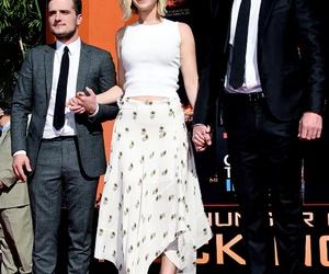 Jennifer Lawrence, josh hutcherson, and liam hemsworth image