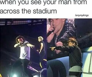 funny, larry stylinson, and remember image
