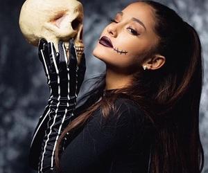 ariana grande, Halloween, and ariana image