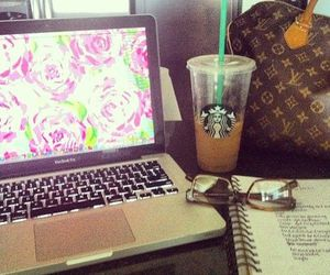 Louis Vuitton and starbucks image