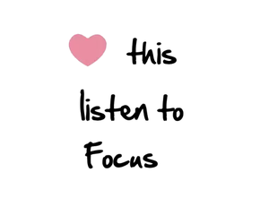 focus, ariana grande, and heart this image